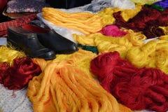 Корзина вышивки Стоковое Изображение RF
