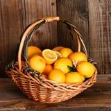 Корзина лимона Стоковые Фото