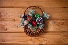 Корзина рождества Стоковые Фотографии RF