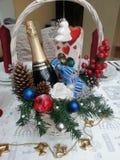 Корзина рождества стоковые изображения rf
