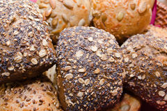 Корзина с хлебом Стоковое Изображение