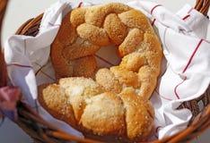 Корзина хлебопекарни Стоковое фото RF