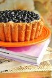 Корзина ягоды пирога Стоковая Фотография