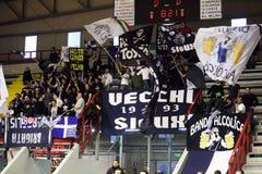 Корзина napoli Ultras Стоковое Изображение