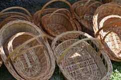 корзины опорожняют Стоковые Фото