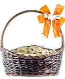 Корзины подарка монетки Стоковое Изображение RF