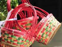 Корзины подарка цветка Стоковые Изображения RF