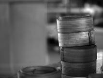 Корзины распаровщика тусклой суммы Стоковое фото RF
