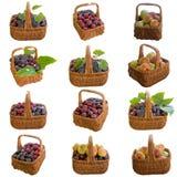 Корзины с плодоовощ Стоковые Изображения RF