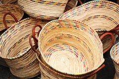 корзины цветастые Стоковые Фото