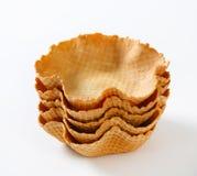Корзины Waffle Стоковое Фото