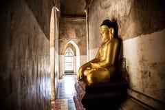 Коридор виска Gawdawpalin, старое Bagan, Мьянма Стоковое Изображение RF