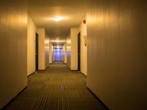 Коридор в гостинице Стоковые Изображения