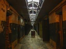 Коридор в тюрьме расположенной в Патагонии Аргентине ushuaia Стоковая Фотография RF