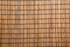 коричневая бамбуковая циновка стоковые фотографии rf