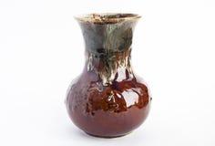 коричневая ваза Стоковое Изображение RF