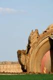коричневая добыча угля открытая Стоковые Фотографии RF
