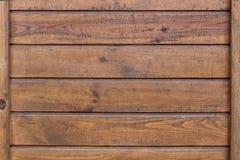 Коричневая деревянная текстура Стоковая Фотография
