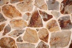 коричневая каменная стена Стоковая Фотография RF