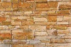 коричневая каменная стена Стоковое Изображение RF