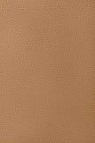 коричневая кожаная светлая текстура Стоковая Фотография