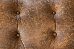 коричневая кожаная старая Стоковая Фотография RF