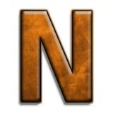 коричневая кожа n Стоковое Фото