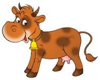 коричневая корова