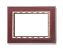 коричневая пластмасса рамки Стоковая Фотография