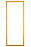 коричневая рамка деревянная Стоковое Изображение RF