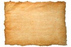 коричневая сорванная бумага Стоковые Фото