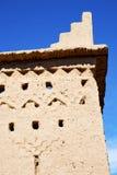 коричневая старая конструкция в Африке около Стоковые Фотографии RF