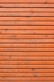 коричневая стена планок деревянная Стоковые Изображения