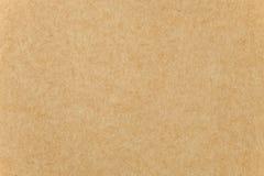 коричневая текстура бумаги крупного плана картона Стоковое Фото