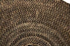 коричневая текстура упаковки коробки картона Стоковое Фото