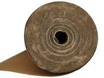 коричневая текстура упаковки коробки картона Стоковые Фото