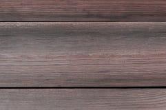 коричневая темная древесина текстуры Стоковое Изображение