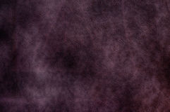 коричневая темная кожаная текстура Стоковое Фото