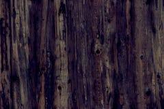 коричневая темная древесина текстуры панели предпосылки искусства старые Стоковое Фото