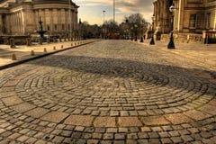 коричневая улица william liverpool Стоковое фото RF