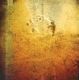коричневая grungy стена Стоковые Изображения