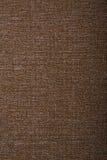 коричневая linen текстура Стоковые Изображения