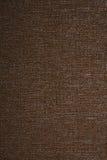 коричневая linen текстура Стоковое Изображение