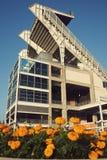 коричневеет стадион cleveland стоковое изображение rf