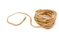 коричневейте естественную веревочку стоковое фото
