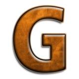 коричневейте кожу g Стоковая Фотография