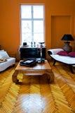 коричневейте комнату стоковые изображения rf