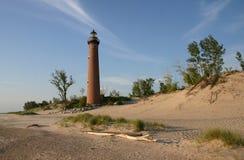 коричневейте маяк Стоковое Изображение RF