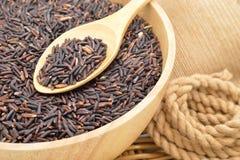 коричневейте органический рис Стоковые Изображения