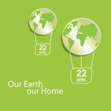 коричневейте покрытую землю дня относящое к окружающей среде листво идет идя зеленый вал текста лозунгов высказываний фраз природ Стоковые Изображения RF
